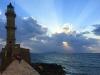 Chania-Kreta-vuurtoren-zonsondergang-600