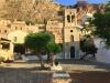 Monemvasia-Peloponnesos-dorpsplein-klokkentoren-600