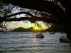 Peloponnesos-Blue-Lake-zonsondergang-600