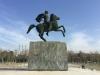 Thessaloniki-standbeeld-alexander-de-grote-paard-600