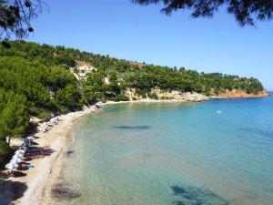 Chryssi Milia beach op Alonissos