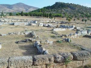 Eretria de archeologische opgravingen Evia