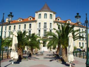Kuuroord Loutra Adipsou op Evia