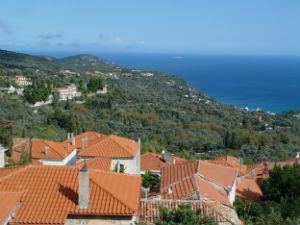 Kimi op Evia met fraai uitzicht