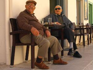 Griekenland informatie Grieken in het kafenion