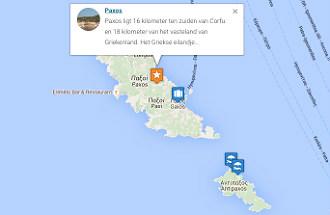 Kaart van Griekenland interactief
