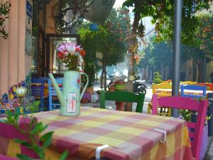 Griekenland klimaat vasteland in Thessaloniki