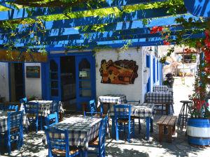 Grieks eten in Griekse restaurants