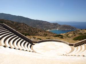 Odysseas Elytis amfi theater op Ios