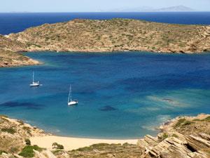 Strand van Tris Klisies op Ios