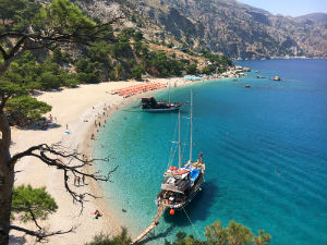 Apella beach op Karpathos