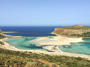 Kreta vakantie Balos beach bij Chania