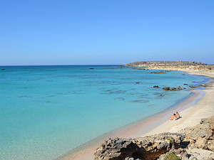 Kreta vakantie op Elafonisi beach
