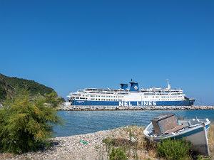 Karlovasi op Samos in Griekenland