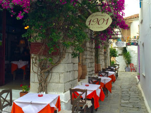 Restaurant 1901 in Skiathos stad
