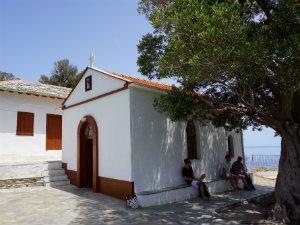 Agios Ioannis Mamma Mia kapel op Skopelos