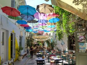 Syros Griekenland gezellig straatje