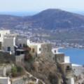 Ano Syros het uitzicht