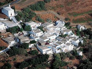 Tinos typisch dorpje