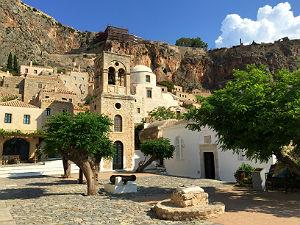 Vasteland Griekenland Monemvasia