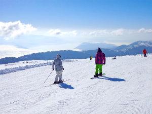 Skiën in Griekenland tijdens wintersport