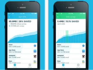 Minder databundel verbruik app voor op je vakantie