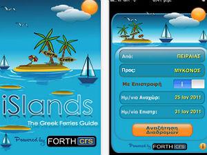 Apps voor op vakantie in Griekenland veerdiensten