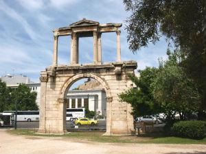Athene vakantie de archeologische bezienswaardigheden