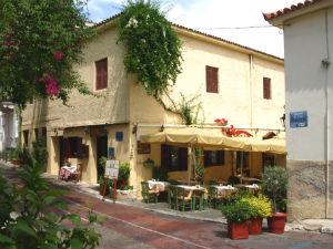 Athene restaurants in Anafiotika