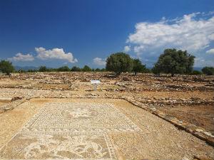 Het oude Olynthos op Chalkidiki