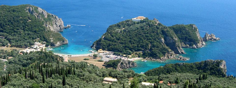 Corfu vakantie Paleokastritsa