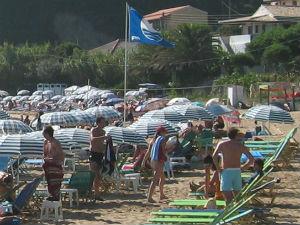 Blue Flag Beach Griekenland