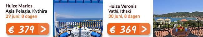 Griekenland vakantie aanbiedingen juni