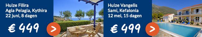 Griekenland vakantie aanbiedingen Ross Holidays
