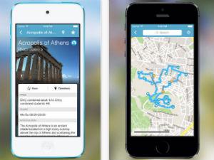 Griekenland reisgids app met kaart