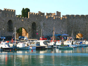 Griekenland vakantiebestemmingen Rhodos stad