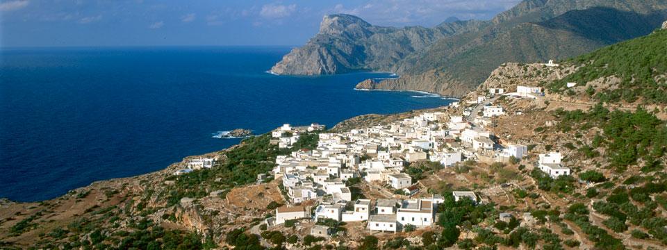 Karpathos vakantie uitzicht