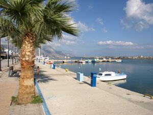 Kos de boulevard en haventje van Kardamena