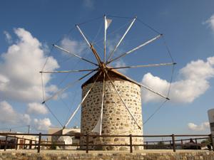 Kos Antimacheia windmolen