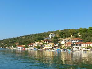 Meganissi op het Ionische eiland Lefkas.