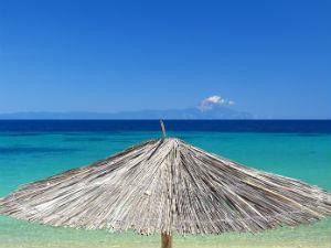 Macedonië strand in Chalkidiki Griekenland