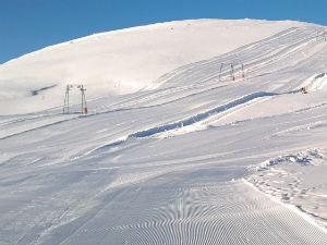 Macedonië Griekenland skiën bij Kaimaktsalan