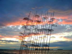 Macedonië de stad Thessaloniki