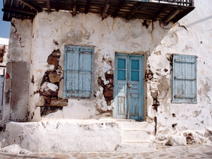 Milos oud Grieks huis in Plaka