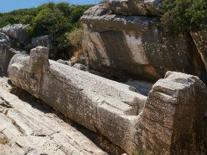 Naxos vakantie Kouros