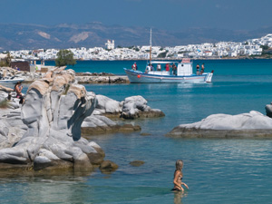 Paros Kolibithres strand