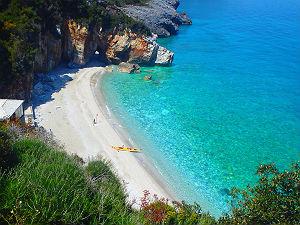 Mylopotamos beach op Pilion