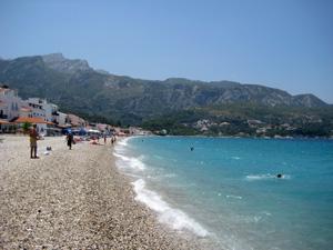 Samos het strand van Kokkari
