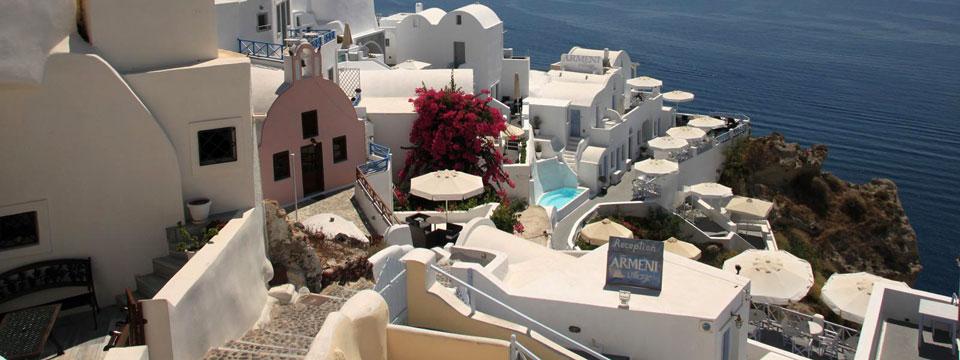 Santorini vakantie Oia