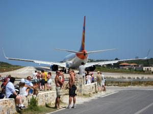 Skiathos landingsbaan